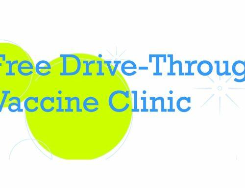 Free drive-thru immunization clinic for children | Clínica de vacunación gratuita para niños desde su vehículo